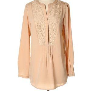 Beige Nine West Vintage collection blouse.